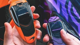 Top 10 supercar touch keys!!  Concept of sport cars
