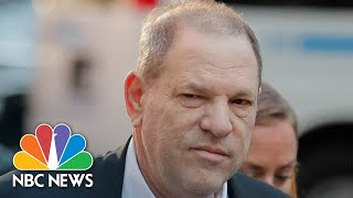 Harvey Weinstein Surrenders To police On Sex Charges | NBC News thumbnail