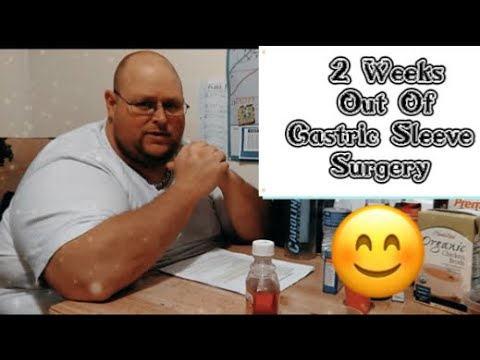 Todd 2 Weeks Out From Gastric Sleeve Surgery 3/27/16