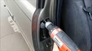 replacing rear extended cab door handle on a 1999 2006 chevy silverado youtube