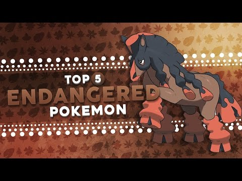 Top 5 ENDANGERED Pokemon!