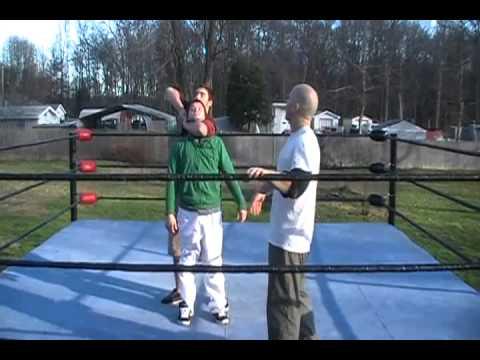 18.Orton BackBreaker - How To Do The Inverted Headlock BackBreaker