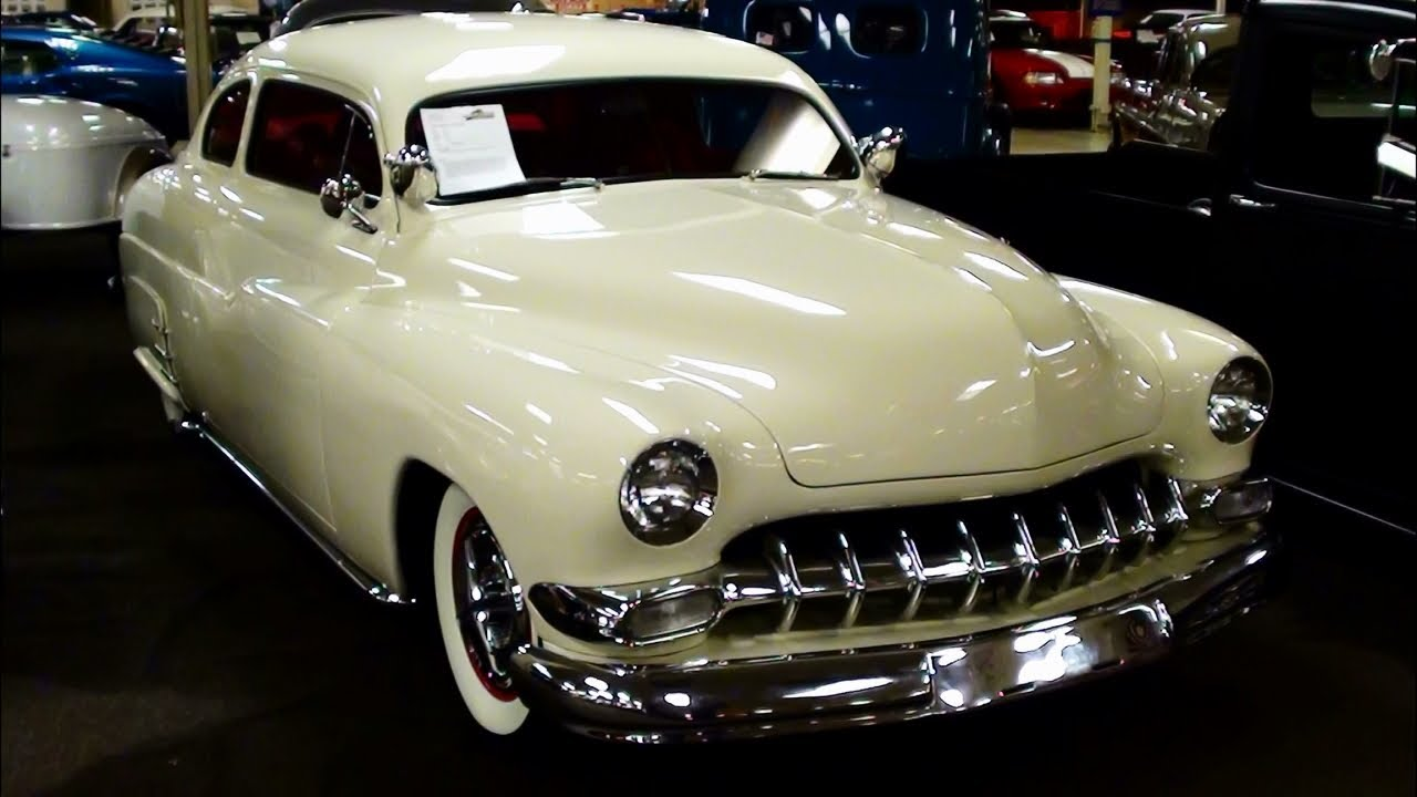 1950 Mercury Coupe Custom Show Car - Chop Top Hot Rod - YouTube