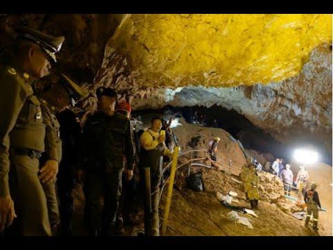 Treinador e quatro crianças ainda estão em caverna na Tailândia | SBT Brasil (09/07/18)