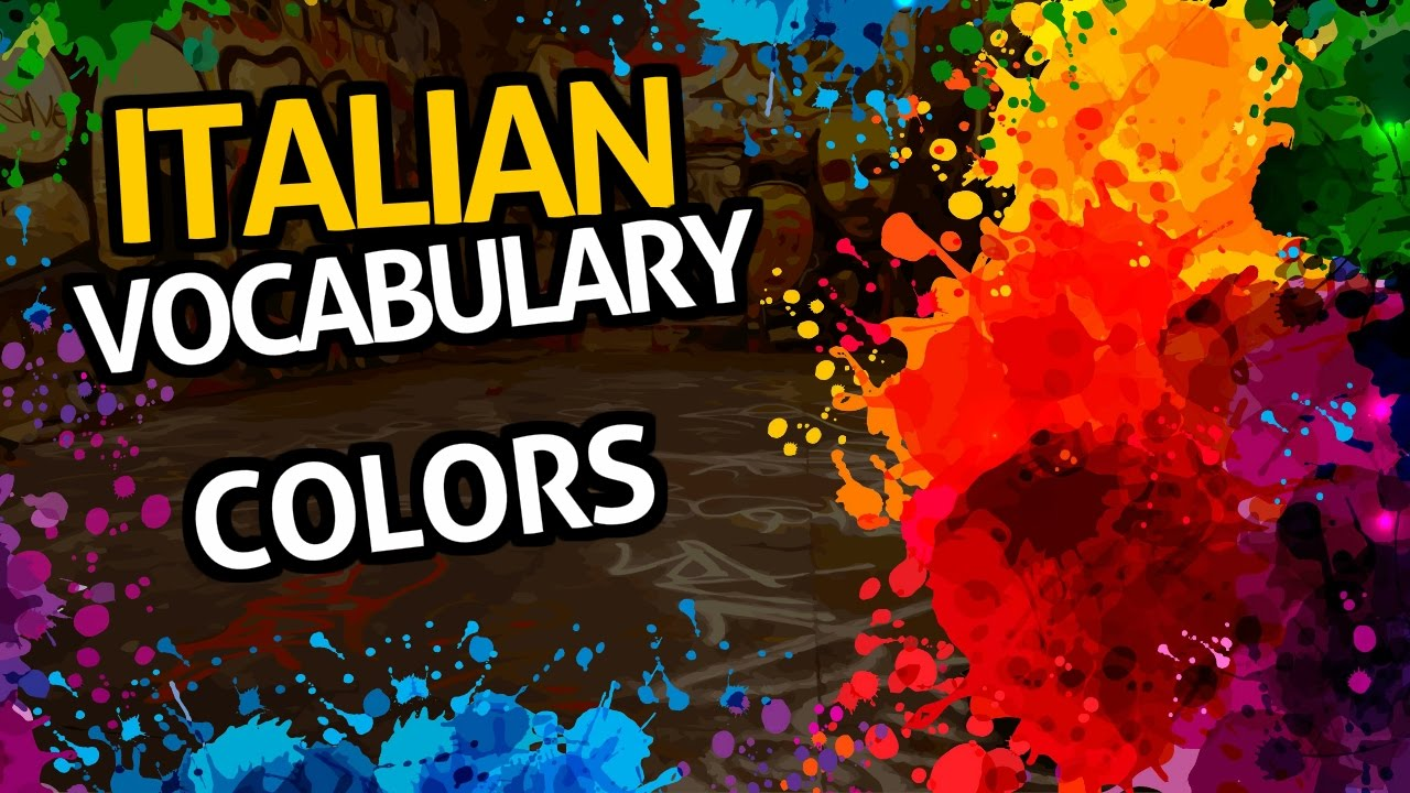 Learn Italian Vocabulary with OUINO™: Lesson #7 (Colors)