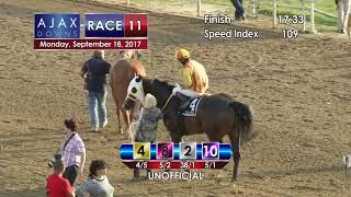 Ajax Downs 09 18 17 Race 11