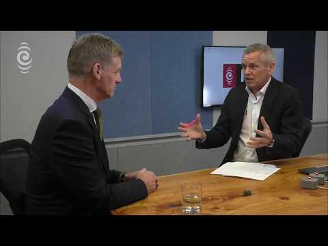 Bill English on Morning Report, 31 October 2017.