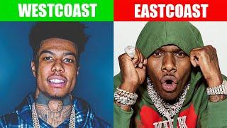 EAST COAST VS WEST COAST RAPPERS 2019 PART. 1