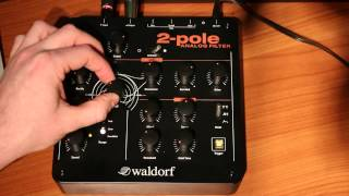 Waldorf 2 Pole Analogue Filter Review