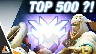 LE TOP 500 EN VUE ??!! ► RANKED OVERWATCH - FR PC