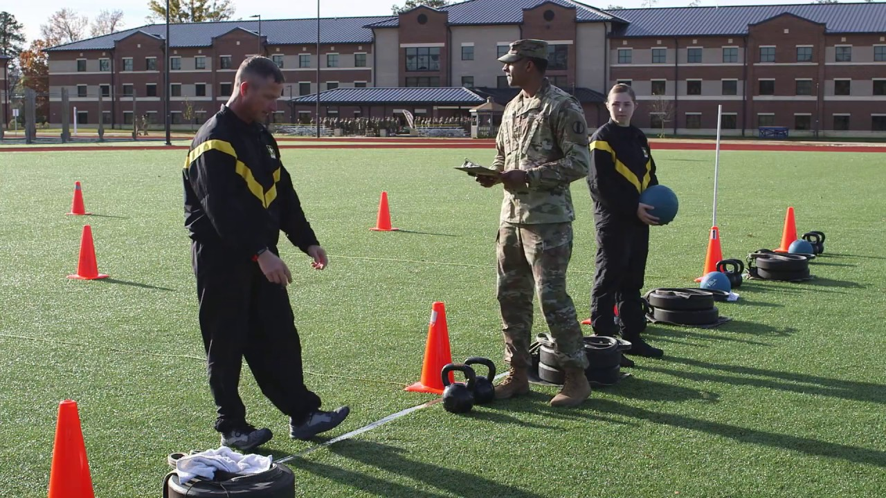 The Standing Power Throw is the second event. The standing power throw measures upper and lower body explosive power, total body flexibility, and dynamic balance.