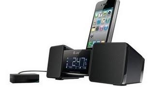 Iluv Vibro Ii Alarm Clock 30-pin Speaker Dock With Bed Shaker Unboxing - Timmytechtv