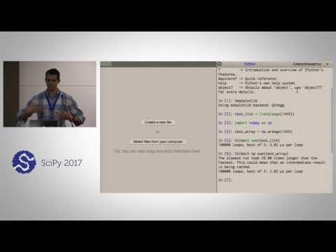 Introduction to Numerical Computing with NumPy | SciPy 2017 Tutorial | Dillon Niederhut