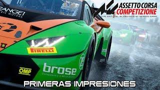 Assetto Corsa Competizione - Primeras Impresiones