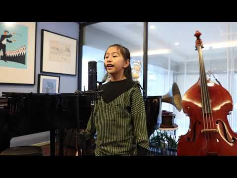 """Little Mermaid """"The world above"""" Cover by 10 years old Cookie"""