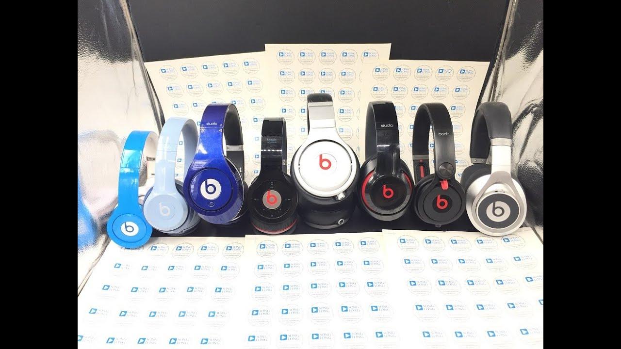 Tổng hợp các loại Headphone Beats đang có trên thị trường 2016