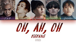 BIGBANG - 오, 아, 오 (Oh, Ah, Oh) [Han|Rom|Eng Color Coded Lyrics]