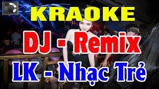 Karaoke Nhạc Sống Remix | Liên Khúc Nhạc Trẻ Remix Hay Nhất | Trọng Hiếu