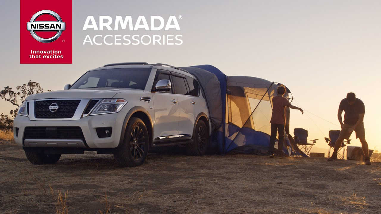 2017 Nissan Armada Accessories Expand The Possibilities