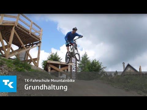 TK-Fahrschule Mountainbike - Grundhaltung