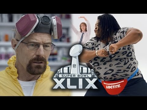 Best Super Bowl XLIX 2015 Commercials - Walter White, Loctite & More
