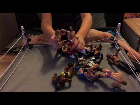 WWE Royal Rumble 30 Man Toys
