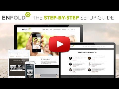 Enfold WordPress Theme Setup Tutorial – AidanBooth.com