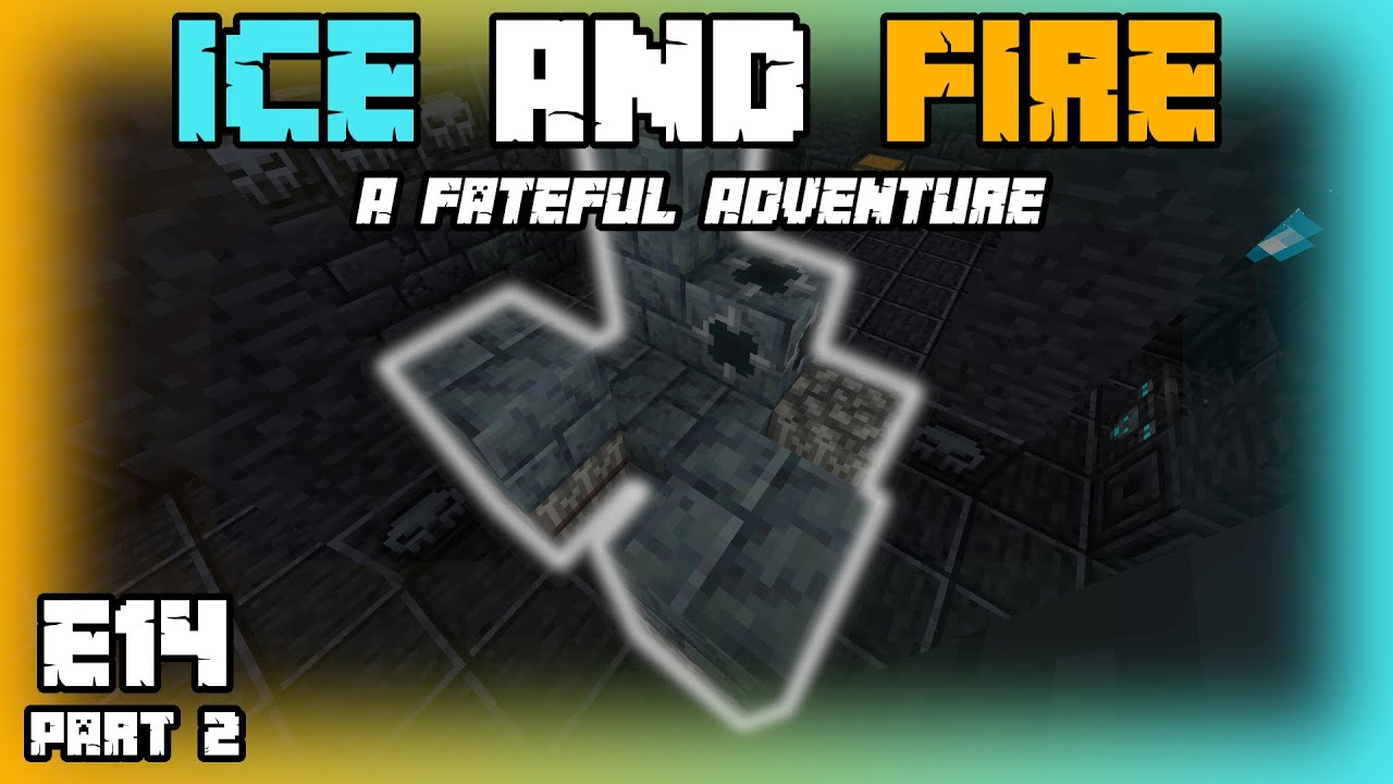 Minecraft Ice and Fire Let's Play   LOOTING THE MAUSOLEUM   E14 (Part 2)