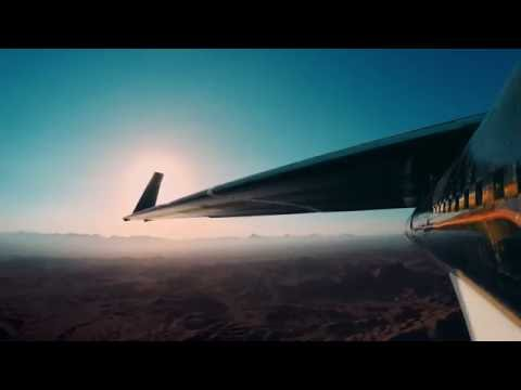 Facebook's solar powered drone 'Aquila' - first flight