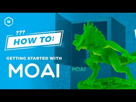 Getting Started with the Peopoly Moai SLA 3D Printer // Unboxing to  Leveling to Test Print
