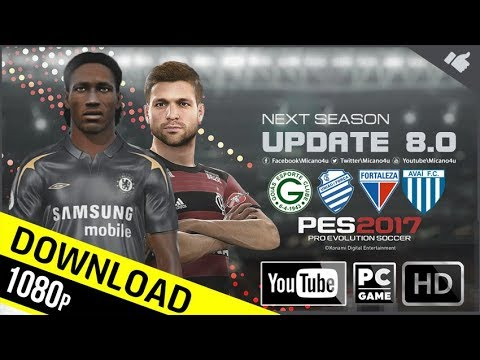 PES 2017 Next Season Patch 2019 Official Update v8.0