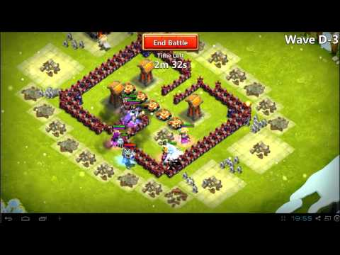 Castle Clash - Here Be Monsters Beating Wave D