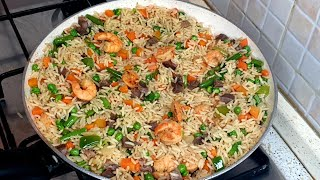 HOW TO PREPARE NIGERIAN PARTY FRIED RICE |FAMILYS THINGS
