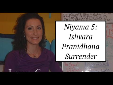 """""""Yoga Board"""" Niyama 5: Ishvara Pranidhana- Surrender: LauraGyoga"""