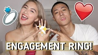 ENGAGEMENT RING CHALLENGE! | REI & MIGY