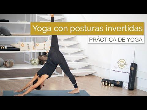 Yoga Con Invertidas Para Activar El Metabolismo (45 Min)