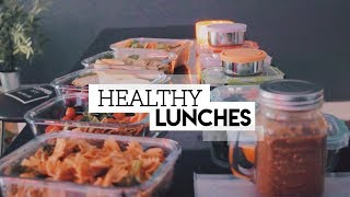 5 HEALTHY LUNCH IDEAS || for school or work