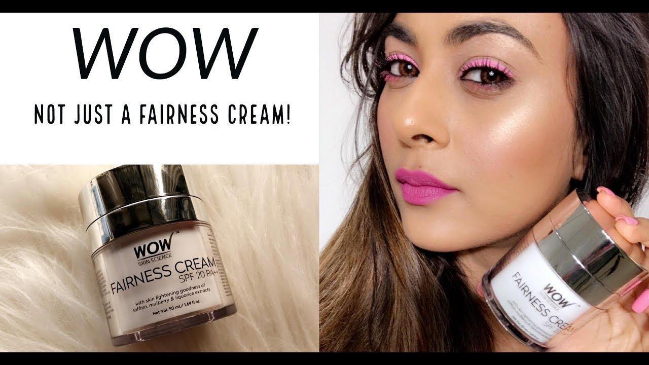 d1bbb90ccf5 Wow Fairness Cream Review | Pigmentation? - YouTube