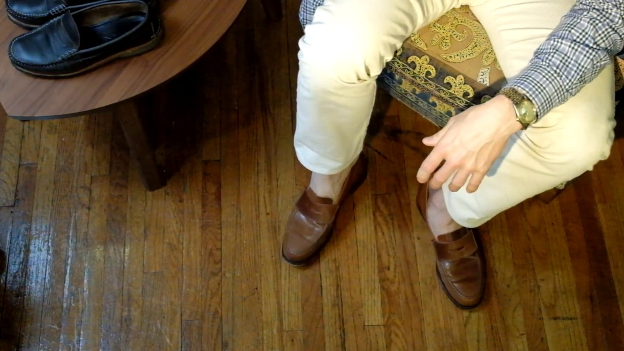 6de1c688463 Quoddy True PennyLoafer with Half Insole - YouTube