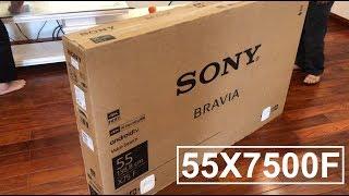 Sony 55X7500F, Hướng dẫn lắp đặt Smart Tivi Sony 55X7500F - Dienmaygiataikho.vn