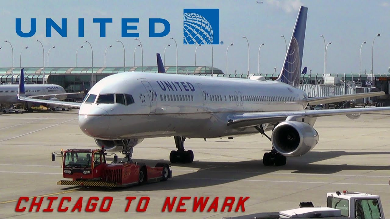 Trip Report United Airlines Boeing 757 200 Chicago To