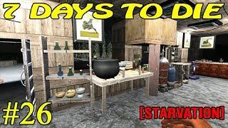 7 Days to Die [ STARVATION ] ► Радиация и йод ► №26