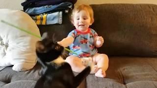 Funniest Baby and Baby Animals. اطرف صغار الحيوانات و الاطفال🤗 اجمل اللقطا