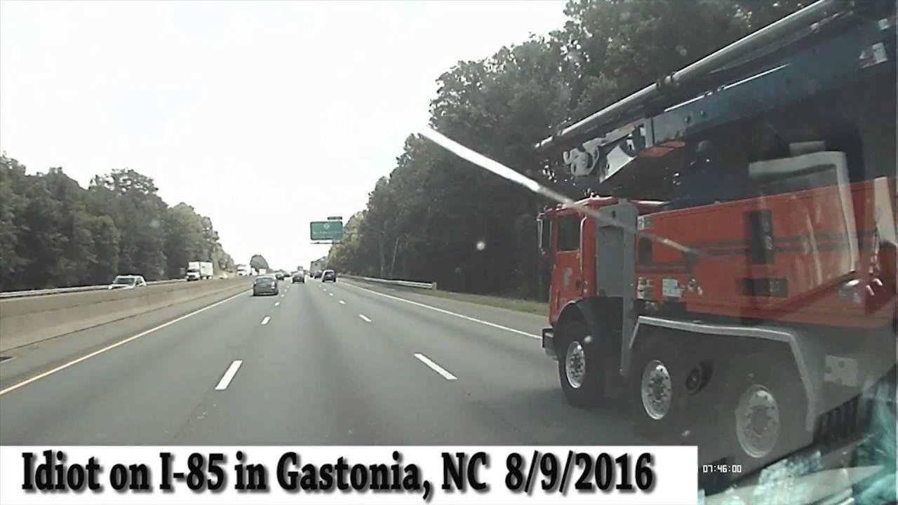 Wreck on I-85