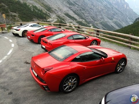 Ferrari 458 Speciale - Stelvio Pass - ride with FOC CZ
