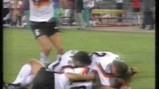 WM 1990 Alle Tore von Deutschland - Weltmeister 1990
