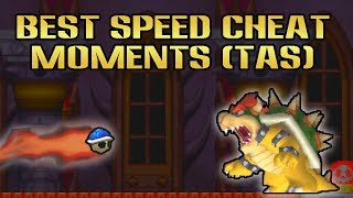 Best Speed Cheat Moments (TAS) | New Super Mario Bros DS