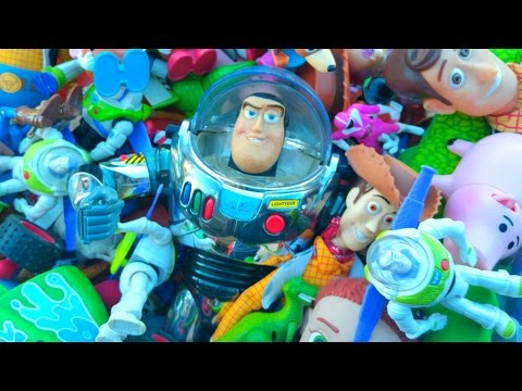 Thumbnail: GIANT TOY STORY TOYS COLLECTION BUZZ LIGHTYEAR WOODY JESSIE HAM MCDONALDS POWER RANGER