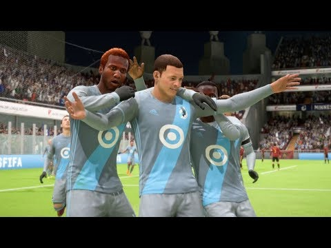 FIFA 18 Minnesota United FC vs Atlanta United –New MLS Expansion Franchises