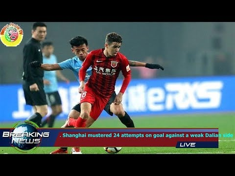 . Shanghai mustered 24 attempts on goal against a weak Dalian side